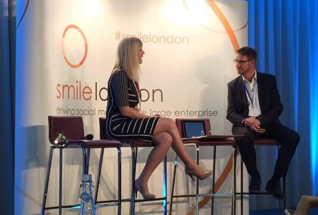 Marc Wright interviews Rosie Valentine at SMiLE London 2015