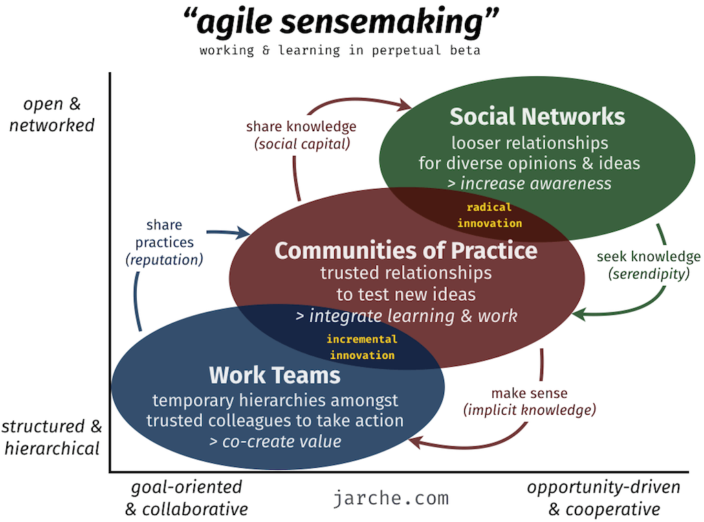 Agile Sensemaking do Harold Jarche