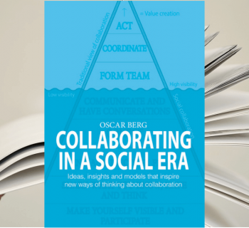 """Collaborating in a Social Era"" - capa do livro"
