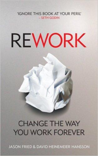 Rework - capa do livro