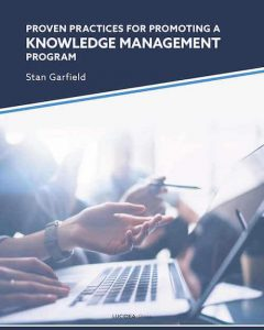 Proven Practices for Promoting a Knowledge Management Program - capa