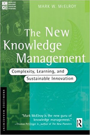 The New Knowledge Management - capa