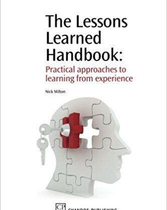 The Lessons Learned Handbook (Milton 2010) - capa