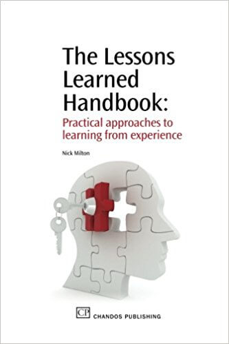 The Lessons Learned Handbook (Milton 2010) - capa
