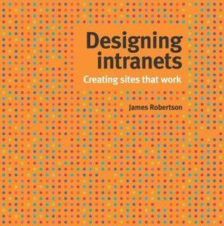 Designing Intranets - capa do livro