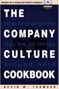 The Company Culture Cookbook - capa