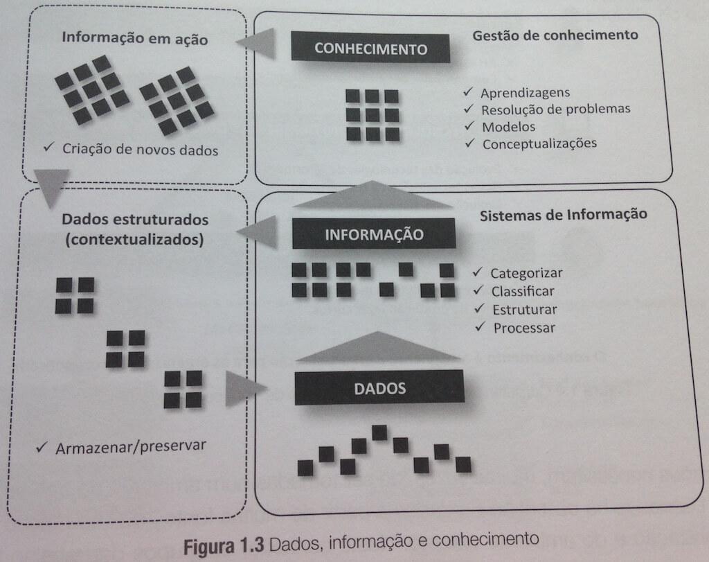 Figura do livro Ciência dos Dados nas Organizações (Vasconcelos e Barão 2017)