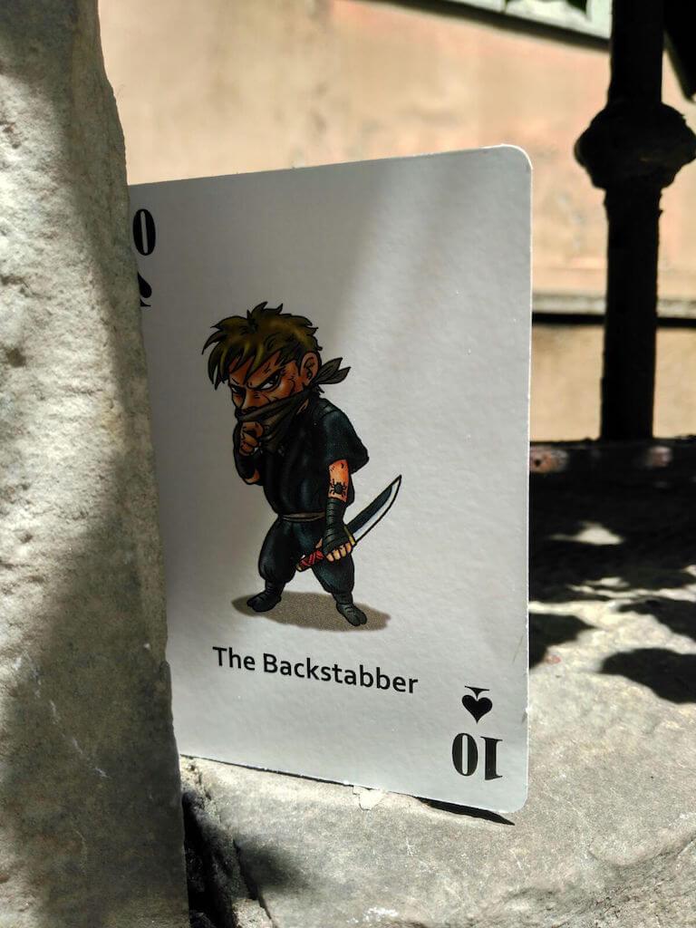 "Carta ""The Backstabber"""