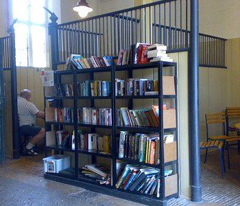 Books at Osterley Park Tea House