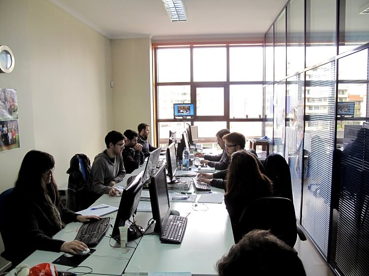 Escritório da Globaz em Oliveira de Azeméis