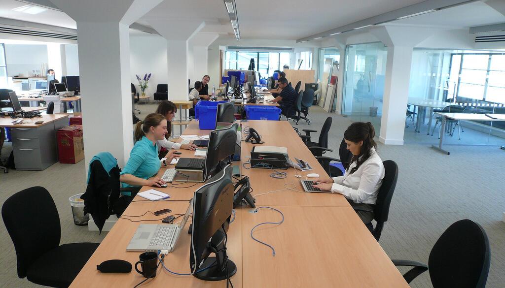 O novo escritório da Headshift