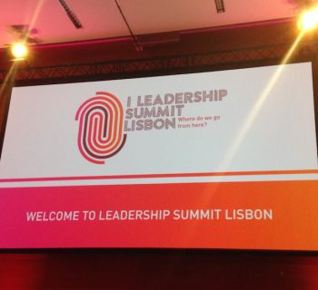 I Leadership Summit Lisbon - boas vindas