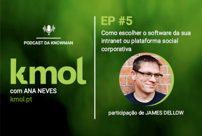 podcast KMOL - episódio #05 com James Dellow