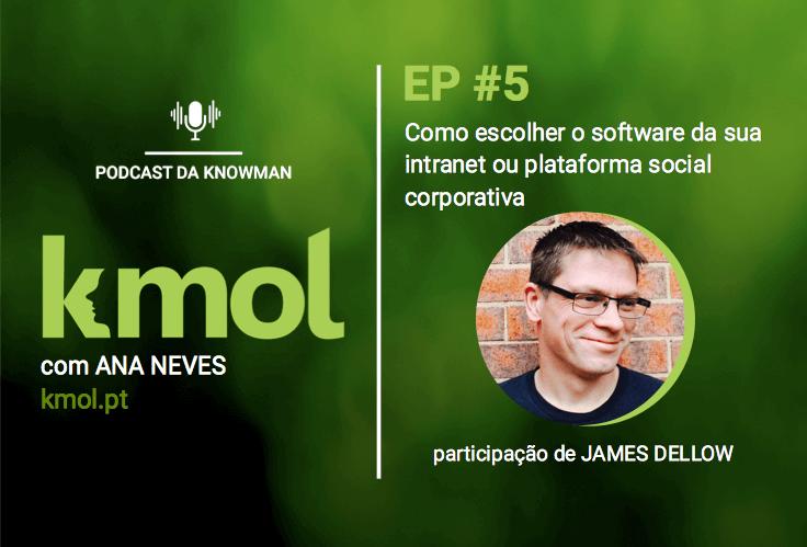 podcast KMOL - episódio #05 com James Dellow