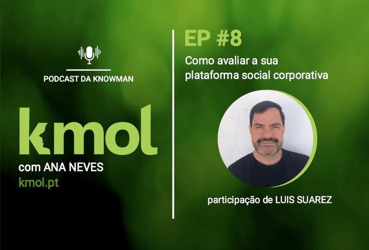 podcast KMOL - episódio #08 com Luis Suarez