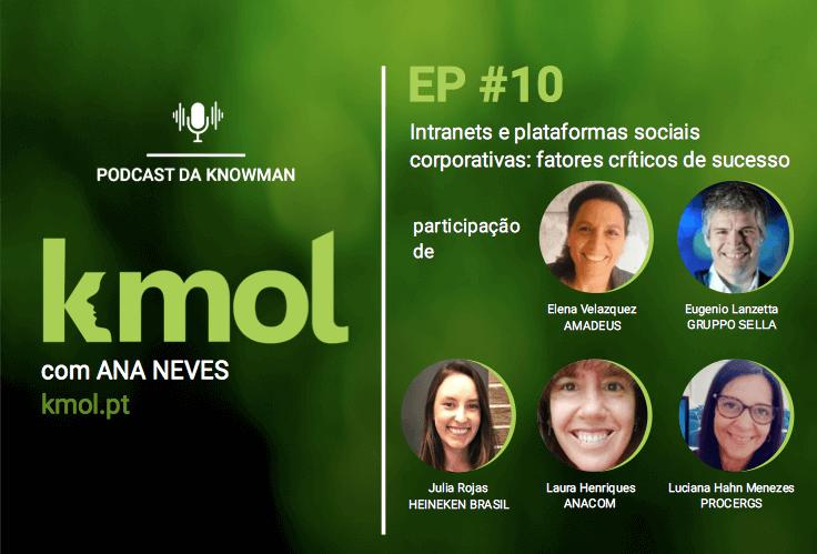 podcast KMOL - episódio #10 com 5 convidados