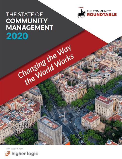 """""""The State of Community Management 2020"""" - capa do relatório"""