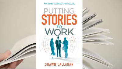 """Putting Stories to Work"" - capa do livro"