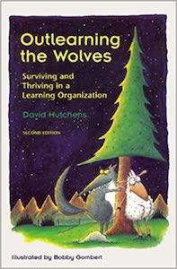Outlearning the Wolves - capa do livro