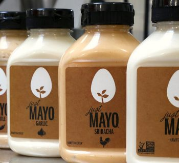Embalagens de Just Mayo