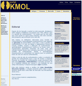 KMOL em 2001