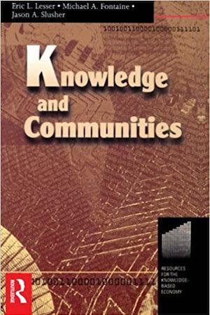 Knowledge and Communities - capa
