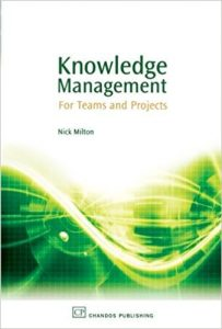 Knowledge Management for Teams and Projects - capa