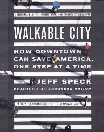 """Walkable City"" - capa do livro"