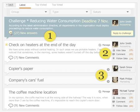 Screenshot do Teepin :: ideias